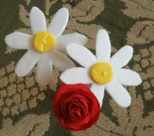 ромашка и роза